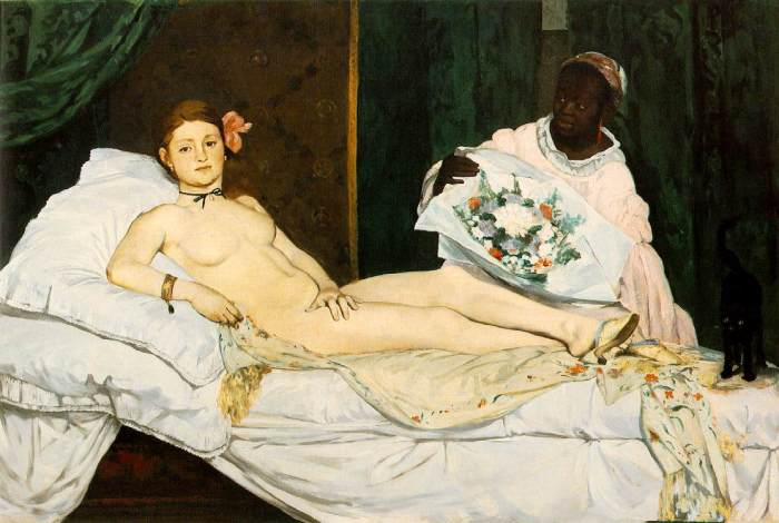 Olympia - Manet (1863)