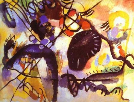 Kandinsky - Mancha negra (1912)