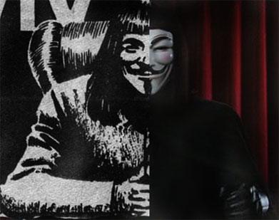 V de Vendetta - Cómic y película