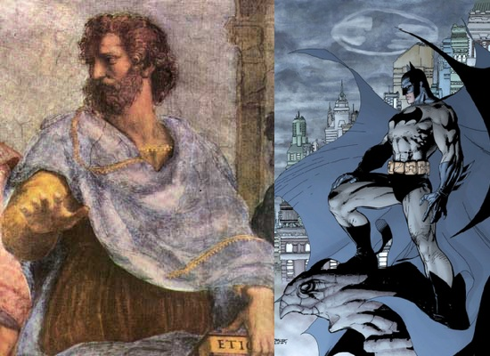 Aristóteles y Batman