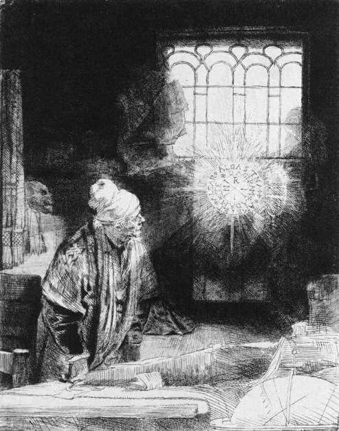 Rembrandt Fausto