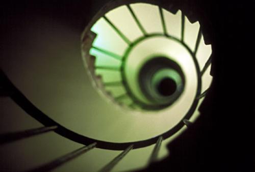 tiempo circular escalera