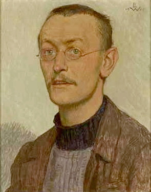 Retrato Hermann Hesse
