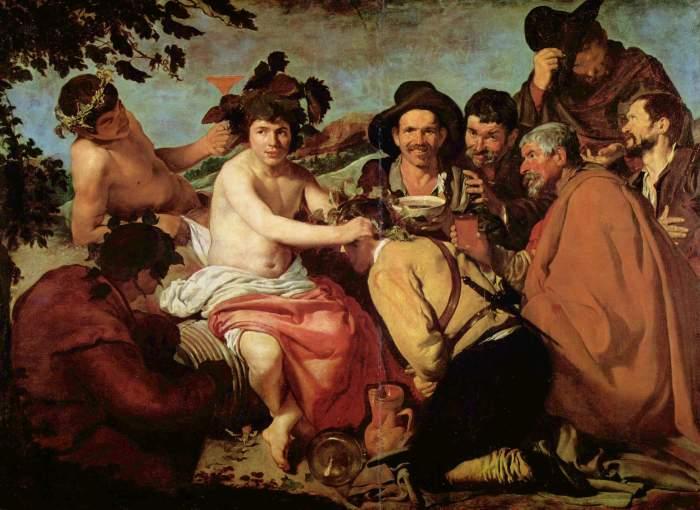 Velázquez Los borrachos