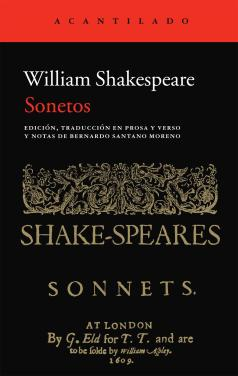 Sonetos Shakespeare Acantilado