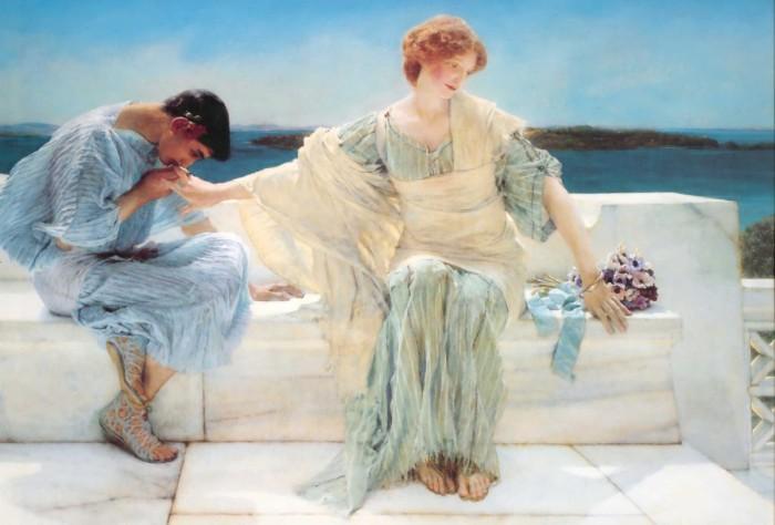 Alma Tadema No pidas más