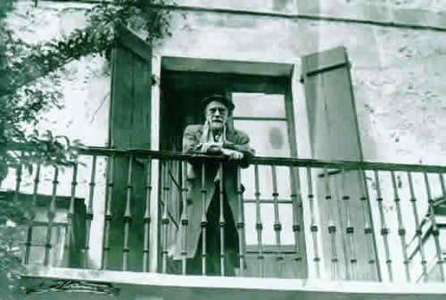 Pío Baroja balcón