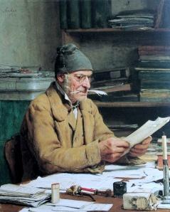 Der Gemeindeschreiber - Albert Anke