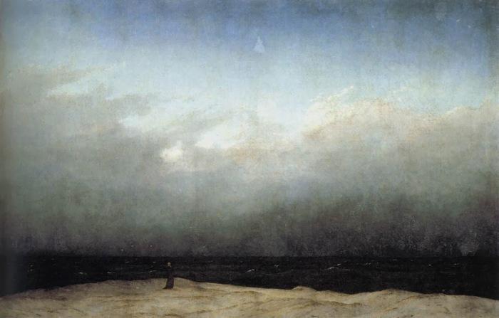 Monje frente al mar - Friedrich