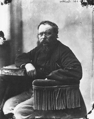Retrato Proudhon
