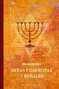 Obras filosóficas y morales Maimónides