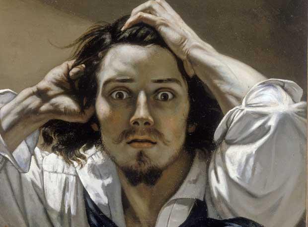 Courbet-Retrato-del-artista-o-El-desesperado-1845