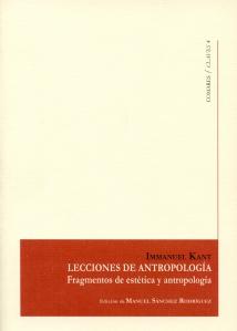 Antropología Kant Manuel Sánchez Rodríguez