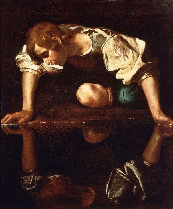 1200px-Narcissus-Caravaggio_(1594-96)
