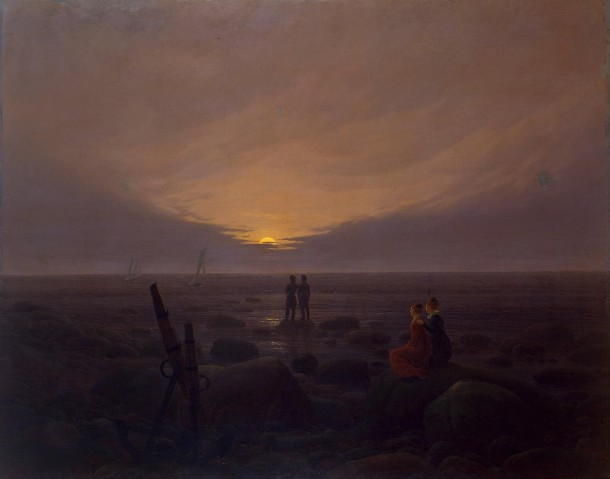 Caspar_David_Friedrich luna mar