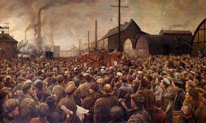 Lenin workers