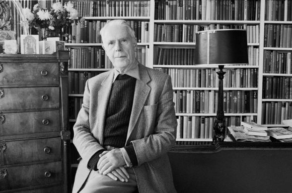 Anthony Powell, at his home, The  Chantry, near Frome in Somerset, Britain - 28 Dec 1983