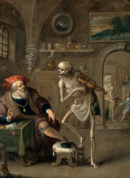Death_and_the_miser._Oil_painting_by_Frans_II_van_Francken._Wellcome_V0017591.jpg